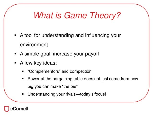 game theory implications in business A game theory analysis of port specialization implications to the chinese port industry.