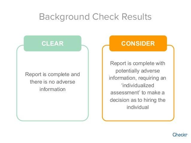 Webinar 5 steps to running compliant background checks