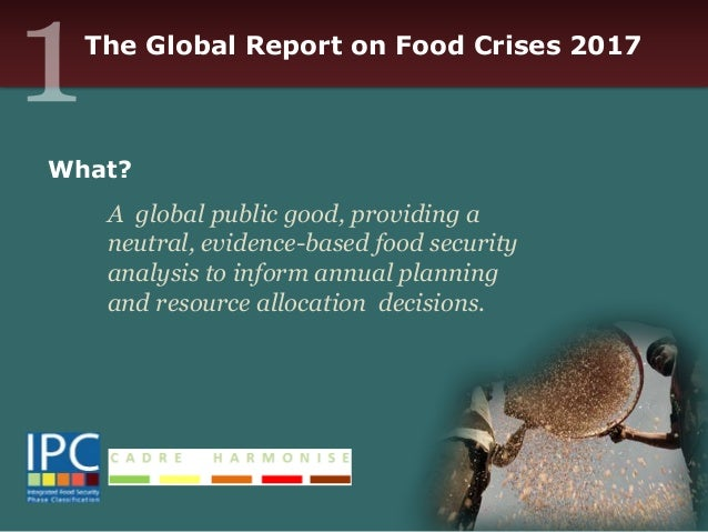 the global food security crisis