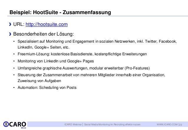Social Media Monitoring Im Personalmarketing Und Recruiting Effektiv