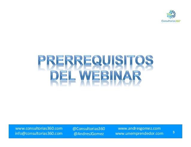 Webinar Aceleración.com - Del Marketing Tradicional al Marketing de Internet Slide 3