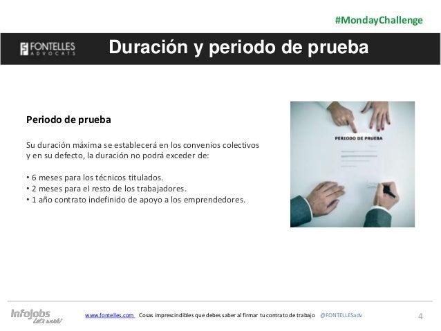 4 #MondayChallenge www.fontelles.com Cosas imprescindibles que debes saber al firmar tu contrato de trabajo @FONTELLESadv ...