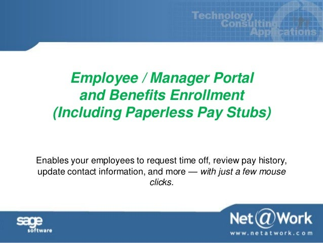 Benefits Of Paperless HR - Paperless pay stub