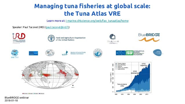 Managing tuna fisheries at global scale: the Tuna Atlas VRE Learn more at: i-marine.d4science.org/web/fao_tunaatlas/home S...