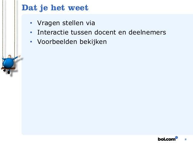 Webinar SEO bol.com Partnerprogramma - 8 december Slide 3