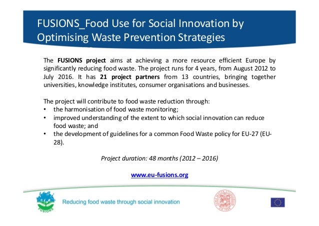 Waste not: food waste reduction practices and policies in the EU