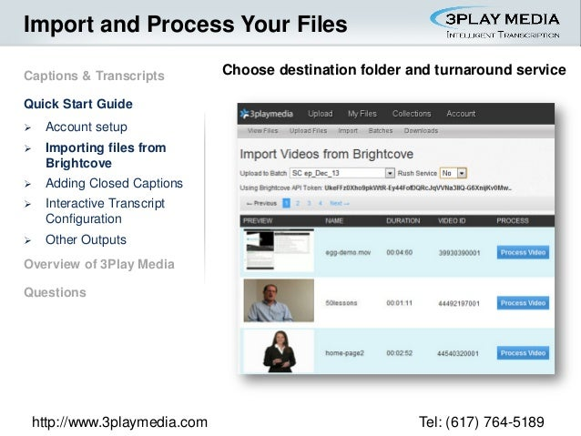 How to Make Your Online Video Accessible and Searchable: An