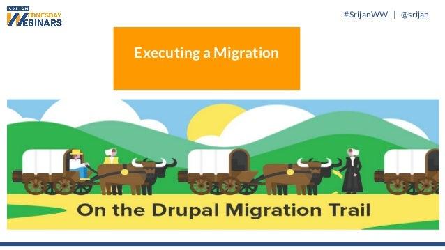 #SrijanWW   @srijan Executing a Migration