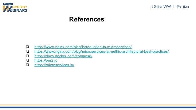 Srijan Wednesday Webinars] How to Set Up a Node js Microservices Arc…