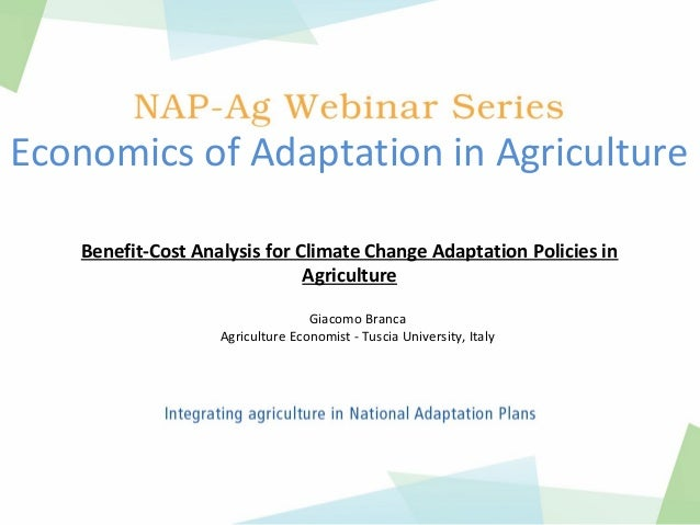 an analysis of the agriculture and climate Climate and weather risk assessment for agricultural planning  for conducting analysis, developing trends and.
