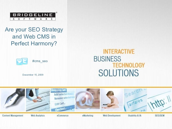 Are your SEO Strategy and Web CMS in Perfect Harmony?