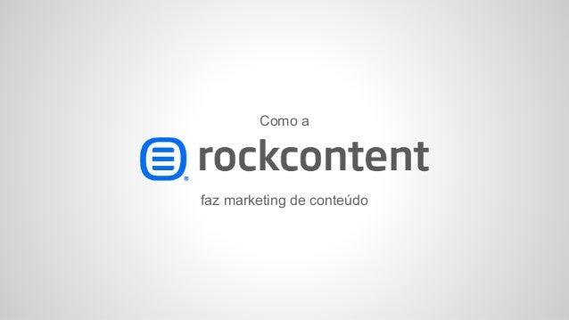 Como a faz marketing de conteúdo