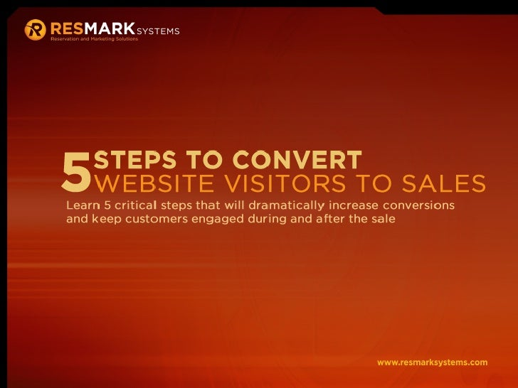 5 Steps to Convert Website Visitors to Sales