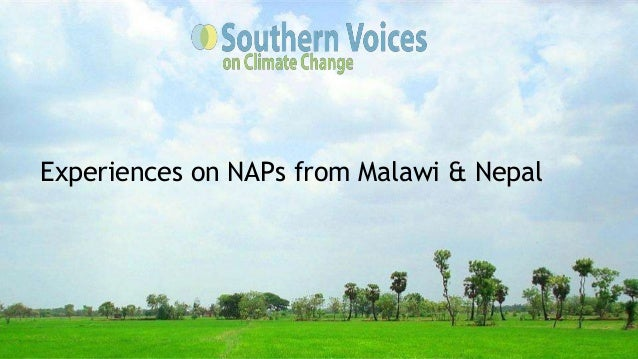Experiences on NAPs from Malawi & Nepal