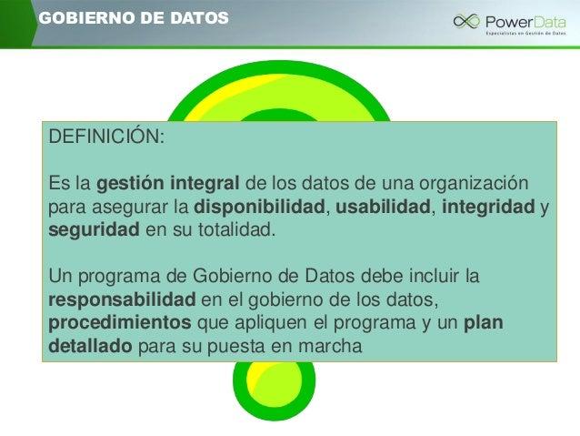 """Hacia un correcto gobierno de datos: cómo realizar un assessment de Data Governance"" Slide 3"