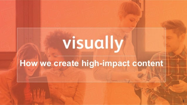 1 How we create high-impact content