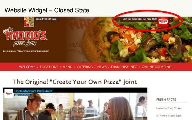 Website Widget – Closed State