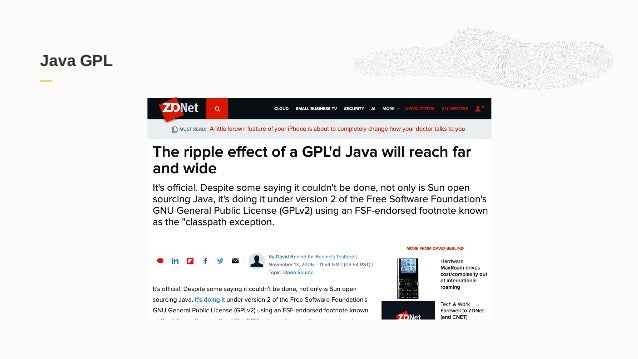 Java GPL