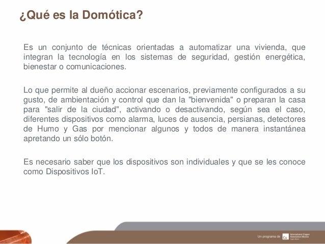 Dom tica aplicaciones dispositivos y beneficios ica for Oficina gestion ica