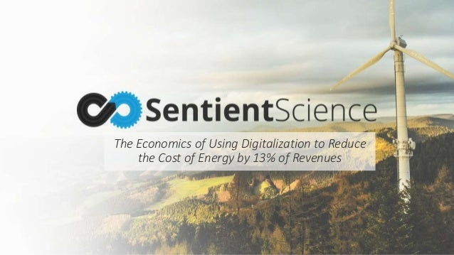The Economics of Using Digitalization to Reduce the Cost of Energy by 13% of Revenues
