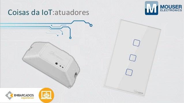 Coisas da IoT:Interação