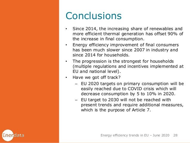 Conclusions • Since 2014, the increasing share of renewables and more efficient thermal generation has offset 90% of the i...
