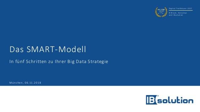 Digital Trailblazer 2017 B.Braun, Aesculap and IBsolution Das SMART-Modell In fünf Schritten zu Ihrer Big Data Strategie M...