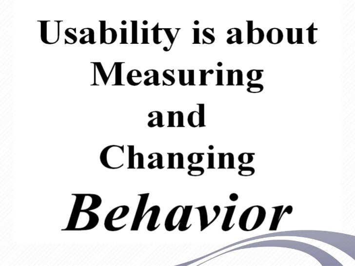 Usability and Electronic Health Records