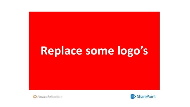 Replace some logo's