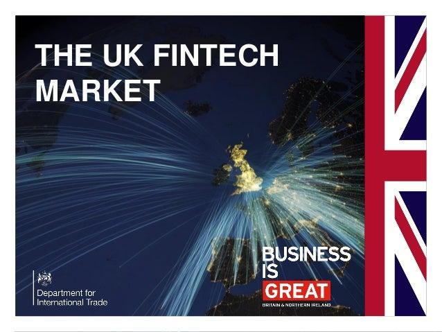 UK fintech market research