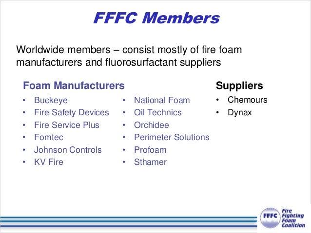 Webinar on Best Environmental Practices for Class B Firefighting Foam…