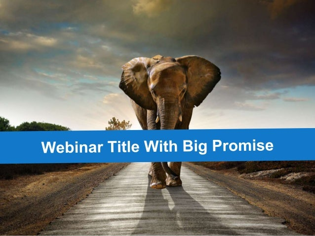 End Boring Powerpoint - Use This Webinar (free consult) success template