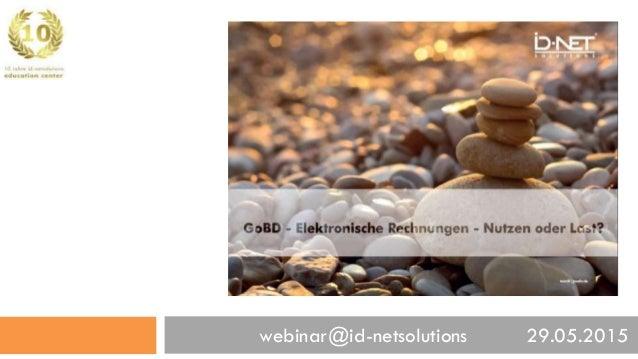 webinar@id-netsolutions 29.05.2015