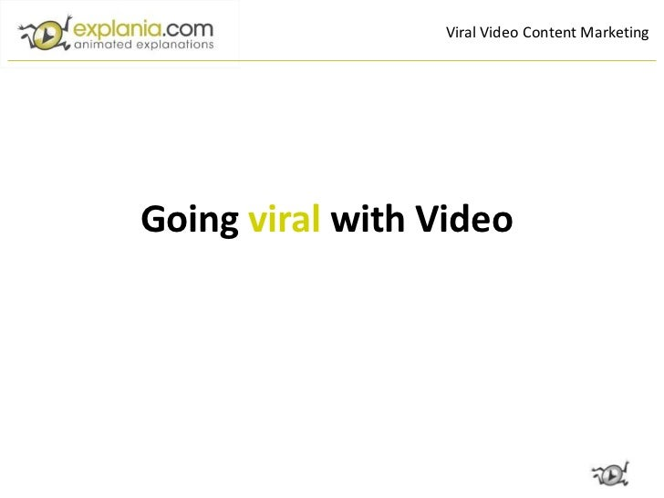 Viral Video Content MarketingGoing viral with Video