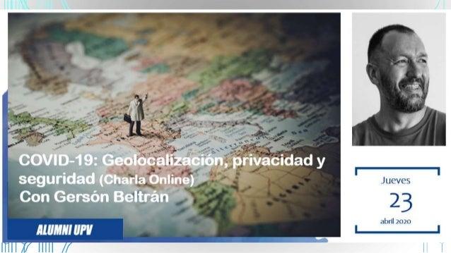 PRESENTACIÓN #geofans #AlumniU PV