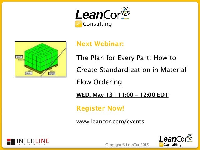 LeanCor Consulting Webinar: How to Deploy Continuous