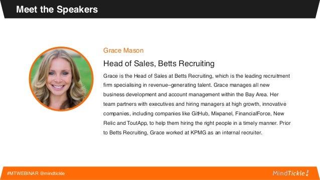Webinar how to scale a dream sales team Slide 3