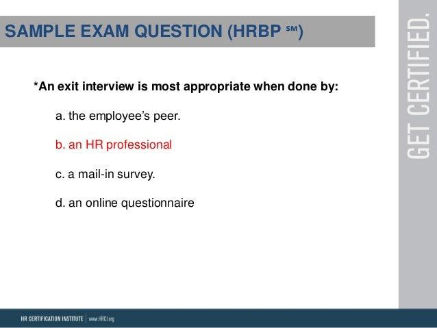 HRMP HRBP Webinar