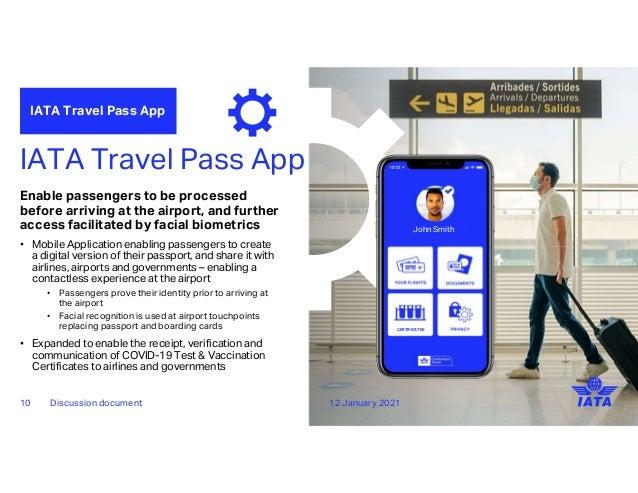 IATA Travel Pass - Evernym Webinar