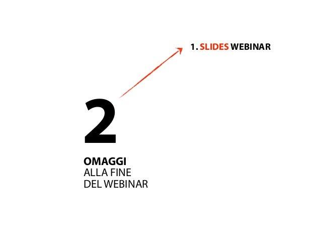 Webinar i fattori di una strategia di wmi Slide 3