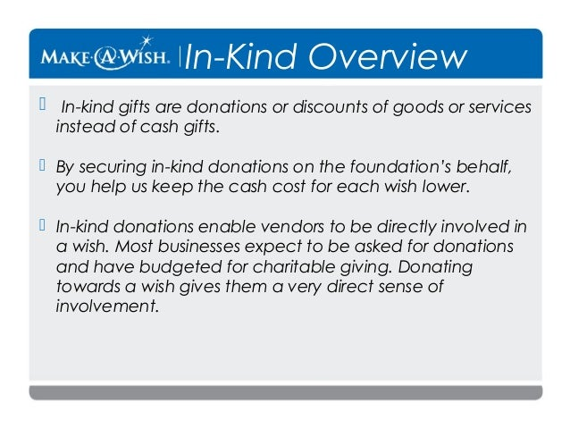 donations gifts