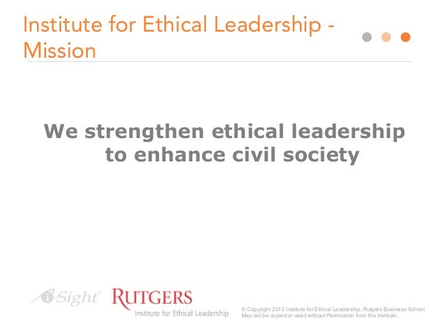 Influencing Ethical Decision Making