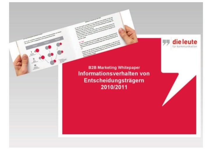 Webinar inforverhalten entscheider_juni2011_dieleute