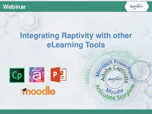 Copyright © 2016 Harbinger Knowledge Products Pvt. Ltd. All Rights Reserved. Integrating Raptivity with other eLearning To...