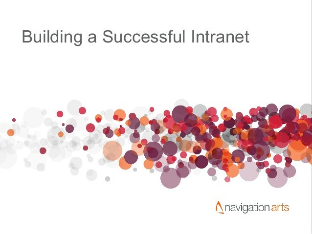 Building a Successful Intranet