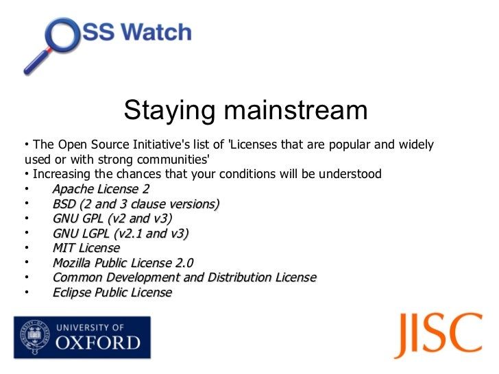 JISC Webinar - An introduction to free and open source software