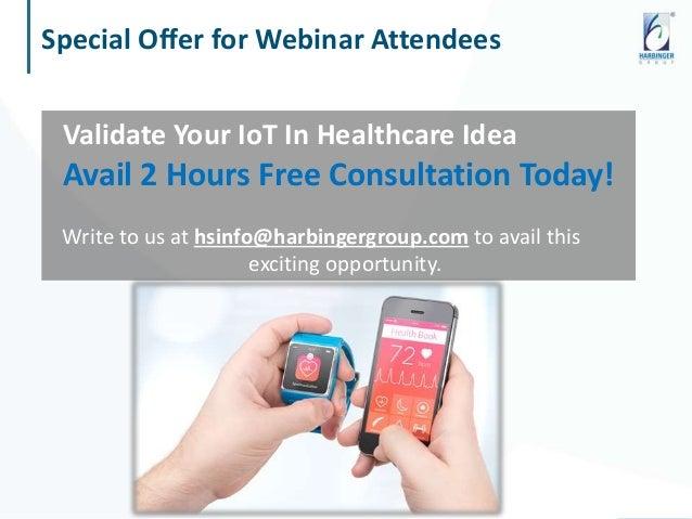 Webinar: IoT in Healthcare - An Overview