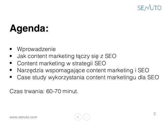 Content Marketing w służbie SEO.  Slide 3