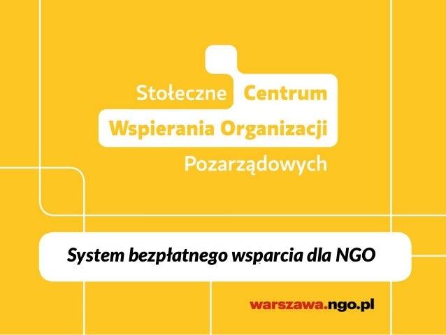 System bezpłatnego wsparcia dla NGO