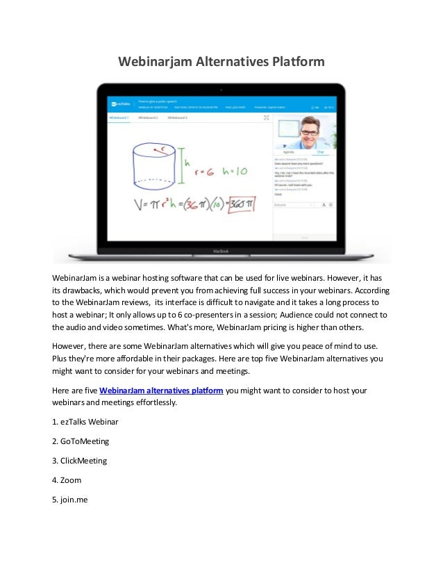 Webinarjam alternative platform